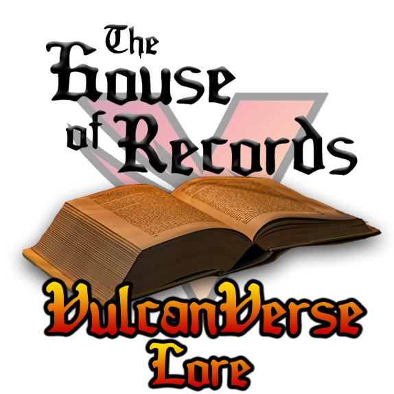 House of Records VulcanVerse Lore logo