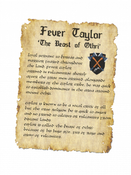 Scroll House of Records - Fever Taylor 1